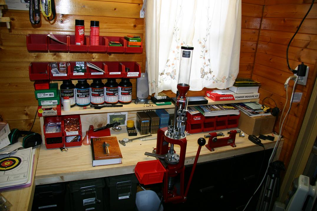 Reloading Bench Ideas Part - 39: Reloading Bench